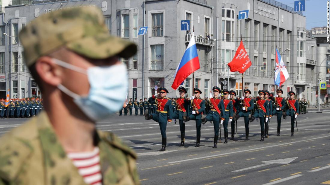 Russia has started a lavish Victory Day parade after a coronavirus delay