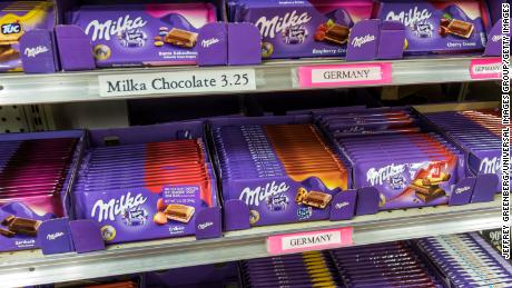 European chocolates, olives and 28 other items could be found to benefit from $ 3.1 billion in new US tariffs