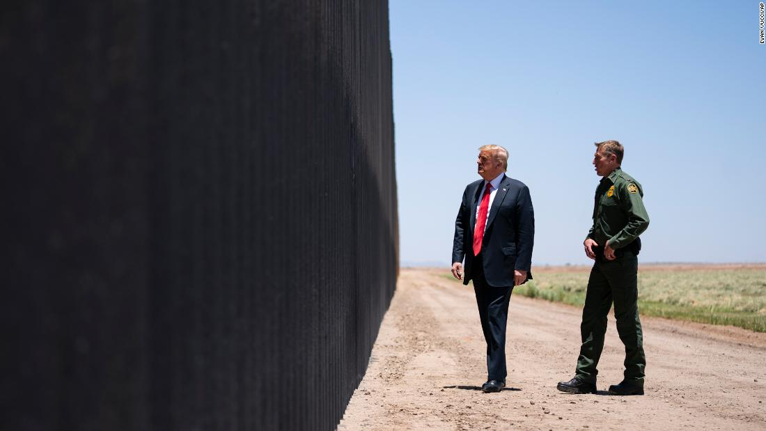 Trump cannot redirect military funds to the border wall, a federal appeals court says