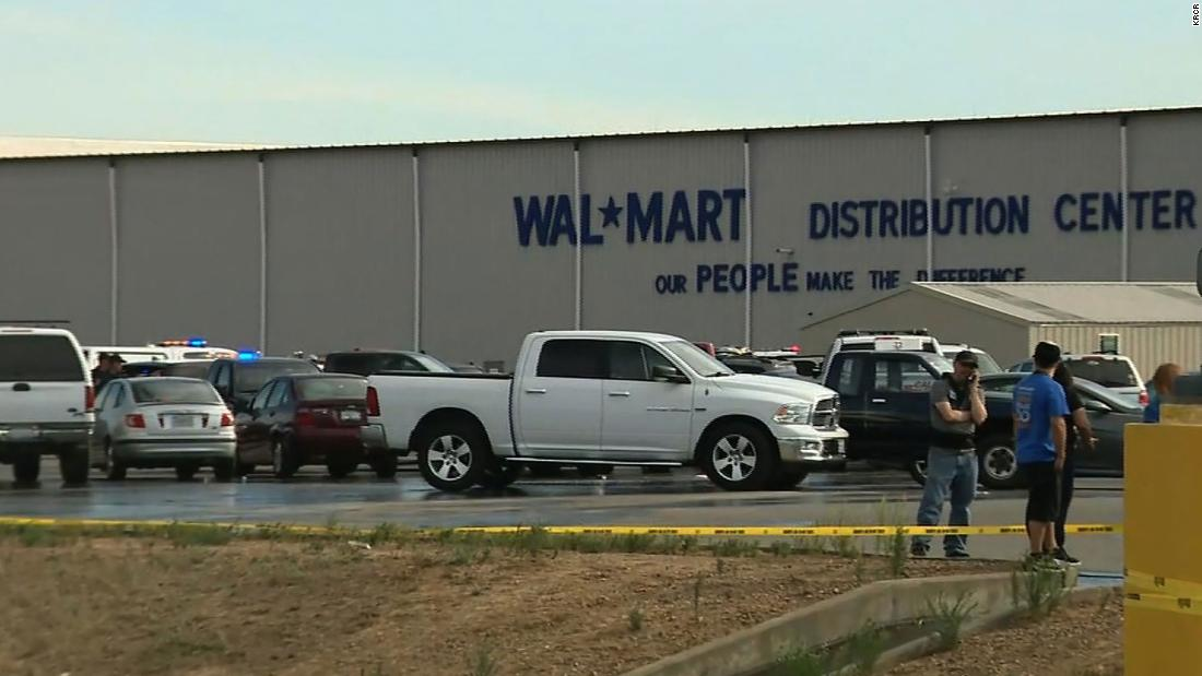 At least 2 dead, 4 injured in shooting at California's Walmart distribution center, officials say