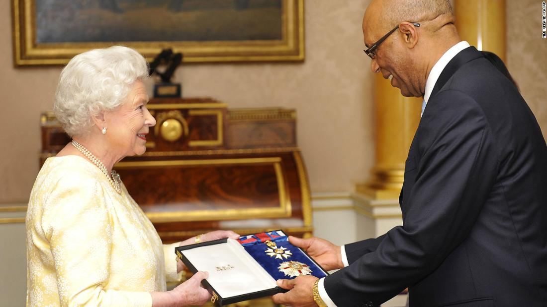 Jamaica's governor general suspends personal use of royal insignia for 'offensive image'