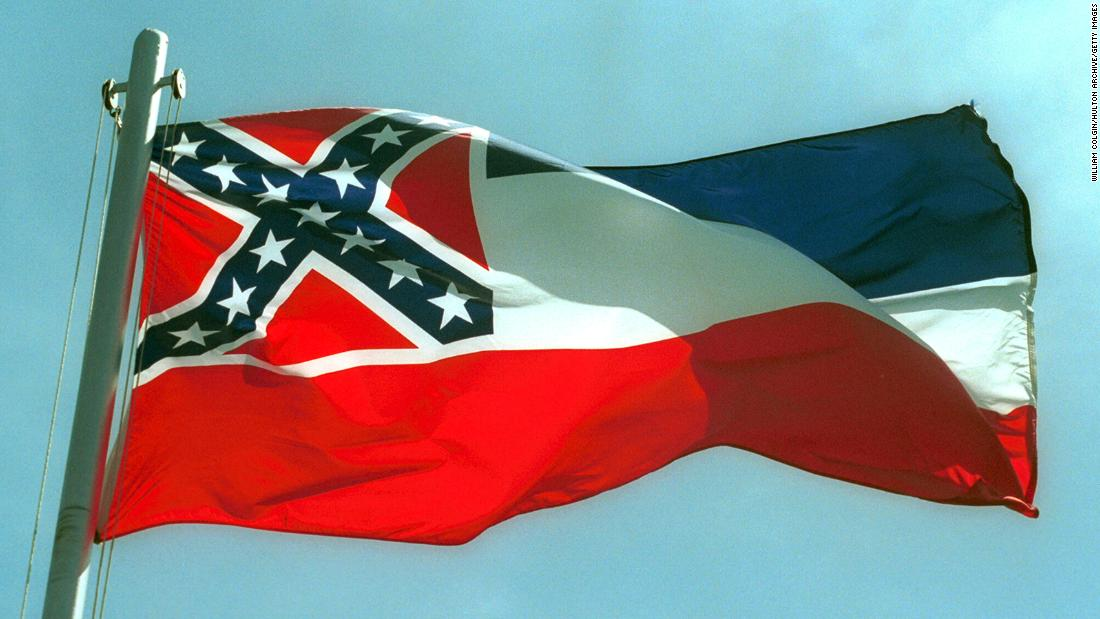 Mississippi State Flag: Legislation enacts a bill to change the state flag