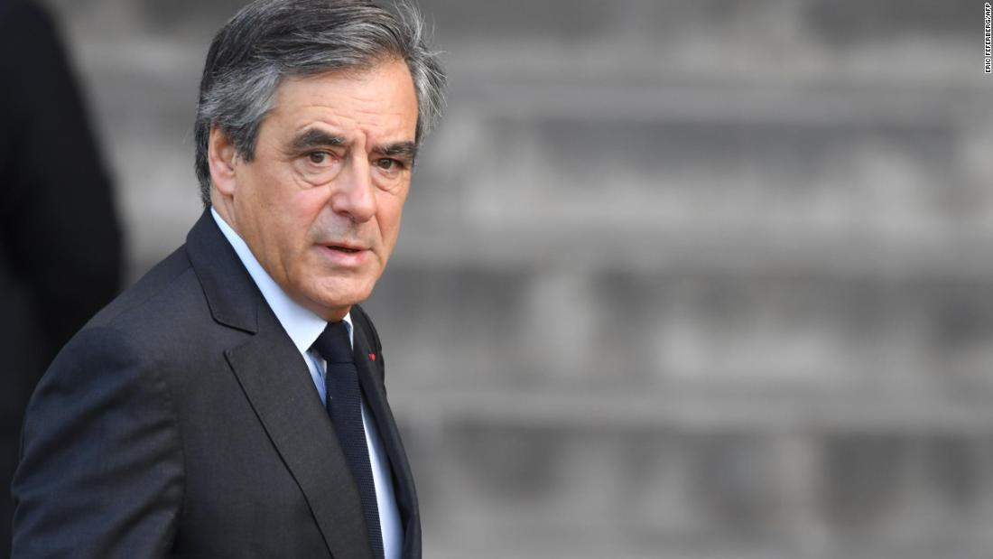 François Fillon: Former French prime minister sentenced to five years in prison
