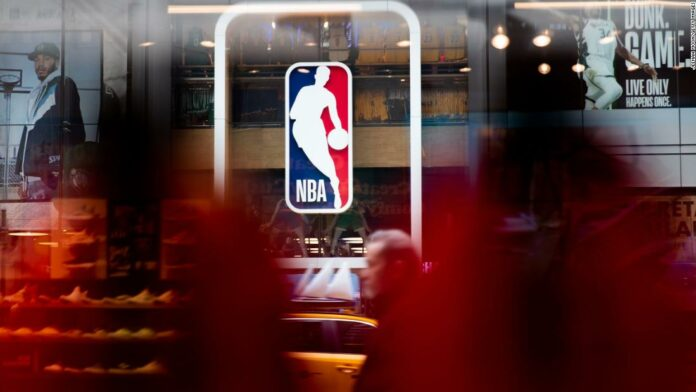 NBA and union players will paint 'Black Lives Matter' on the courts in Orlando when the season repeats, says the source