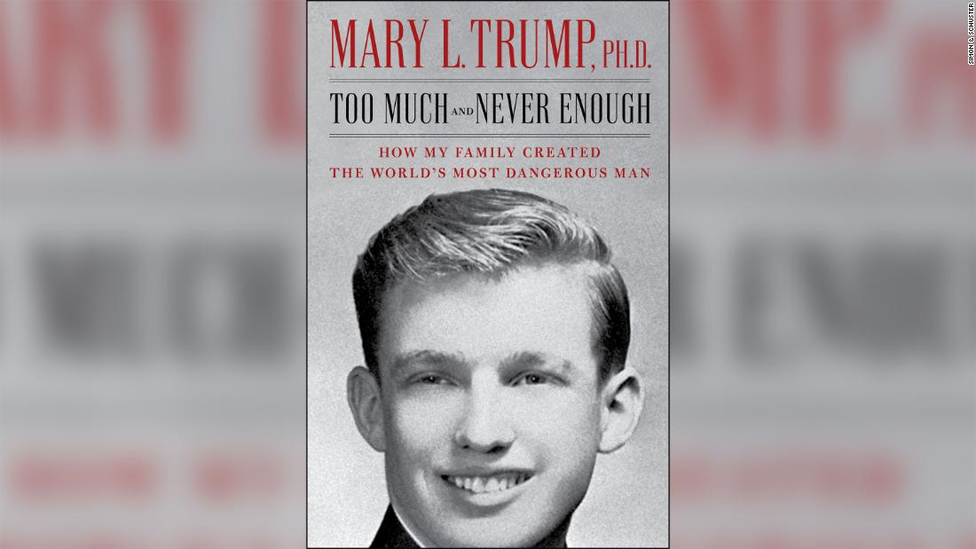 The book Mary Trump: The Court clashes with the publisher of Trump's niece's advertising book