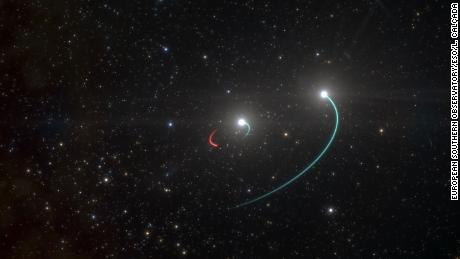 Astronomers find the nearest black hole on Earth, 1,000 light-years away