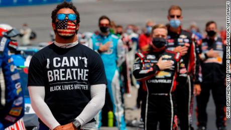 For black NASCAR fans, a ban on the Confederate flag is welcome, but it's been a long time coming