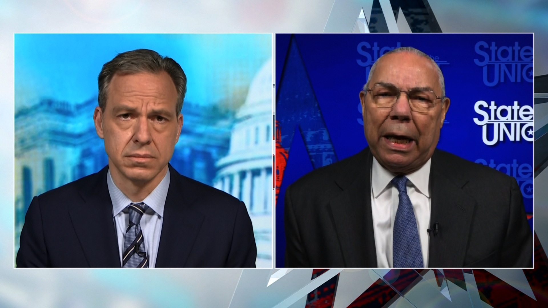 """Colin Powell says the president has """"moved away"""" from the Constitution"""
