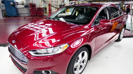 The Ford Fusion is among the cars involved in the recall.