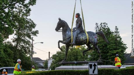 Confederate statues are torn down after the death of George Floyd. Here's what we know