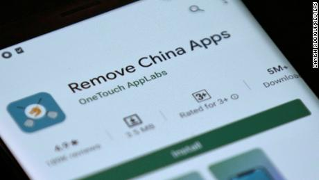 Google is removing an application that claims to detect Chinese applications on Indian phones