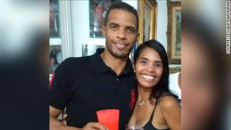 Sugled and John Jairo Gaspirini. Sugled shared that image as part of a WhatsApp-based campaign to try to find her brother when he disappeared.