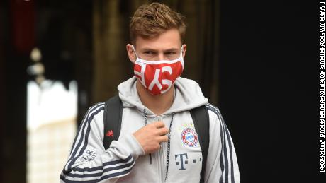 Joshua Kimmich says players are responsible & # 39; to join racist protests.