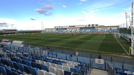 Real Madrid will play their remaining home games at the 6,000-seat Estadio Alfredo Di Stefano, where their B-team will usually play.