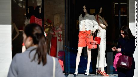Luxury retailers suffer because Chinese tourists are subject to travel bans