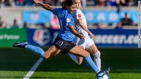 The National Women's Football League became the first professional league to resume play on Saturday