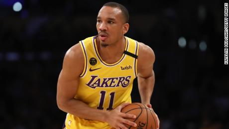 LA Lakers keeper Avery Bradley told ESPN that he gave up playing when the NBA resumed the season in Orlando