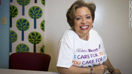Annette March-Grier founded Roberta's House, a nonprofit mourning support center in Baltimore.