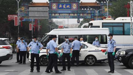 Xinfadi Market, Beijing's largest wholesale food market, is at the center of the city's latest coronavirus epidemic.