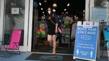 The WHO is urging peoples to encourage the public to wear face fabrics.