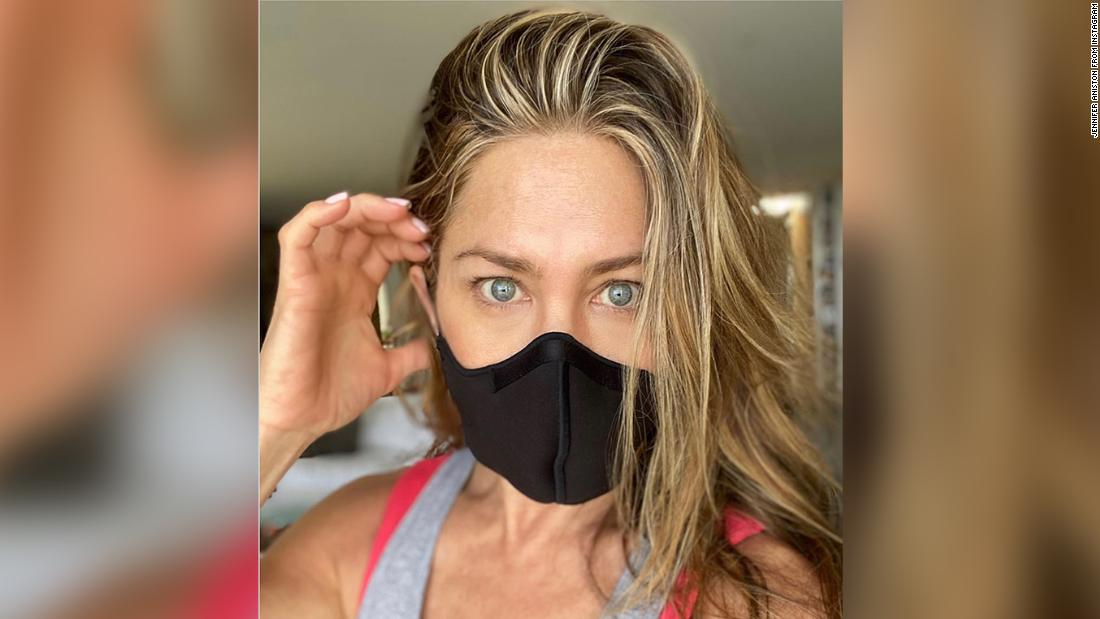 Jennifer Aniston is here with a friendly reminder to 'wear the damn mask'