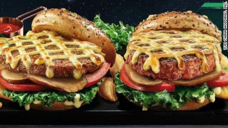 Beyond Meat brings its vegetable burgers to KFC and Pizza Hut in China