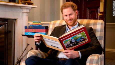 Prince Harry records special & # 39; Thomas & amp; Friends & # 39; episode