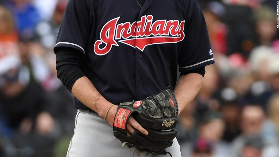 The Cleveland Indians 'determine the best way forward' regarding the name of the team