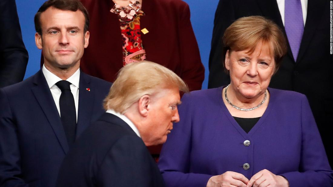 The cracks in the Trump-Europe relationship are turning into a gap