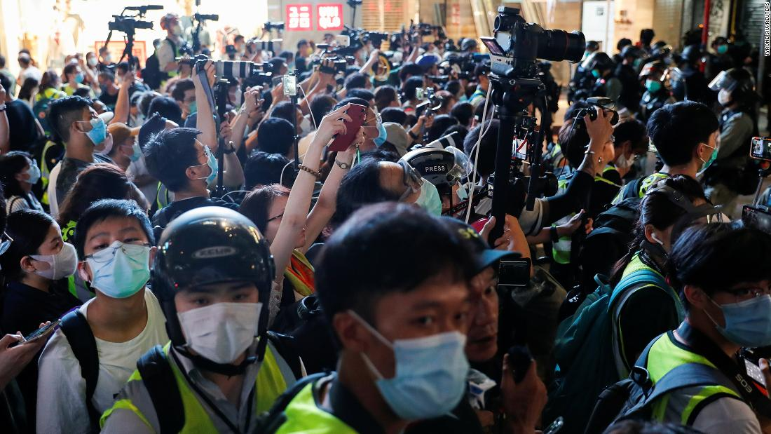Hong Kong security law could have a disgusting effect on freedom of the press