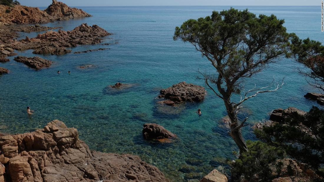 American vacationers were denied entry to Sardinia according to the new EU rules