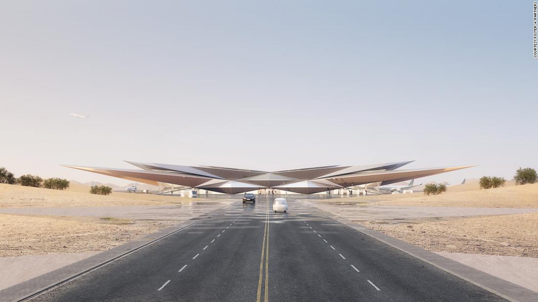 Saudi Arabia's new airport design unveiled