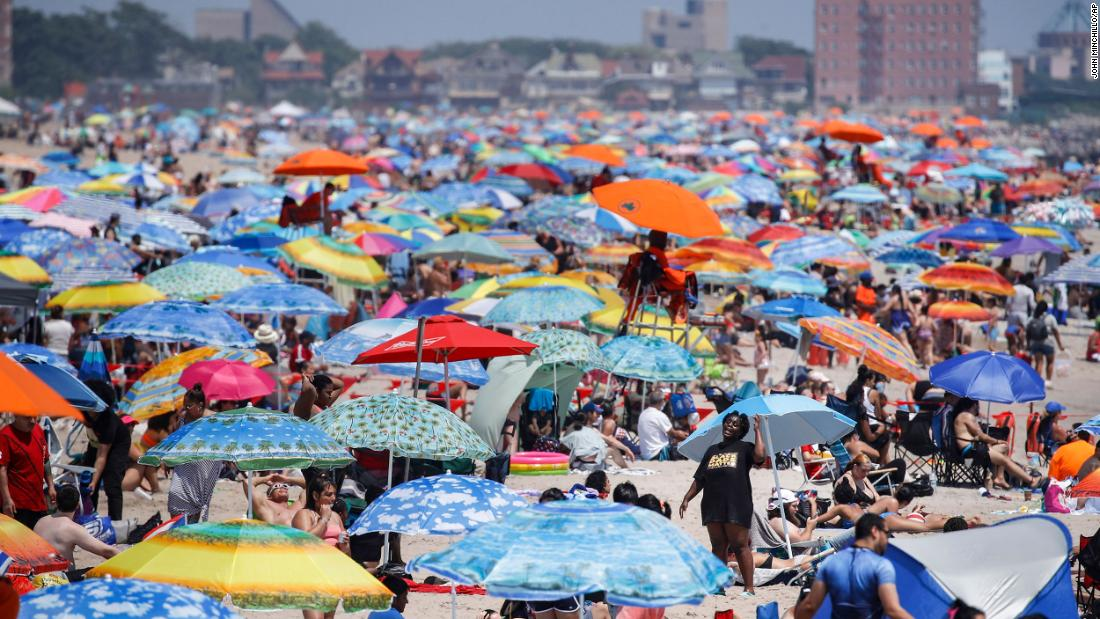 American coronavirus: Some celebrated July 4th almost, while others filled the beaches despite the onslaught of Covid-19