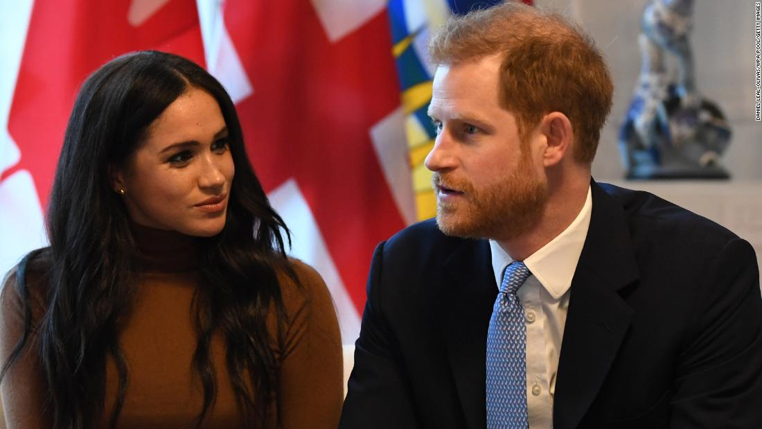 """Princes Harry and Meghan say Britain must confront its colonial past and """"correct these injustices"""""""