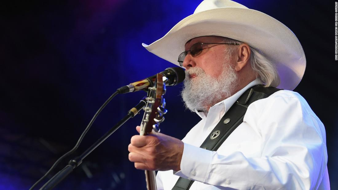 Charlie Daniels, singer of 'The Devil Went to Georgia', has died at the age of 83