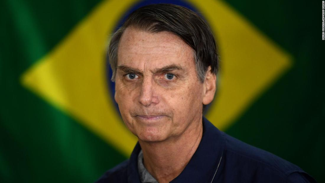 "Brazilian Jair Bolsonaro had a corovirus screening in his lungs ""but everything is fine"""