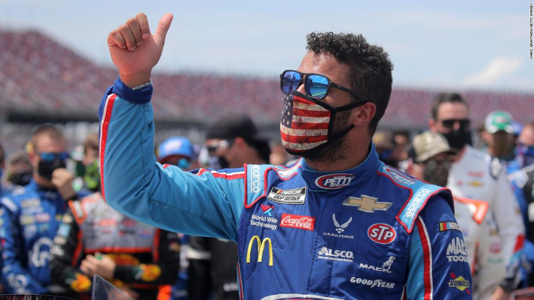 Bubba Wallace: White House refuses to deny Confederate flag while Trump resents NASCAR ban