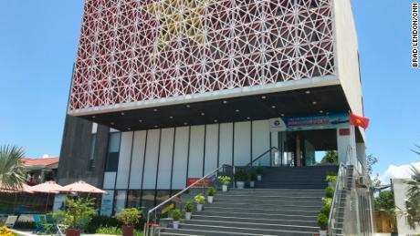 The $ 1.8 million Paracel Islands Museum opened in Da Nang, Vietnam, in 2018.