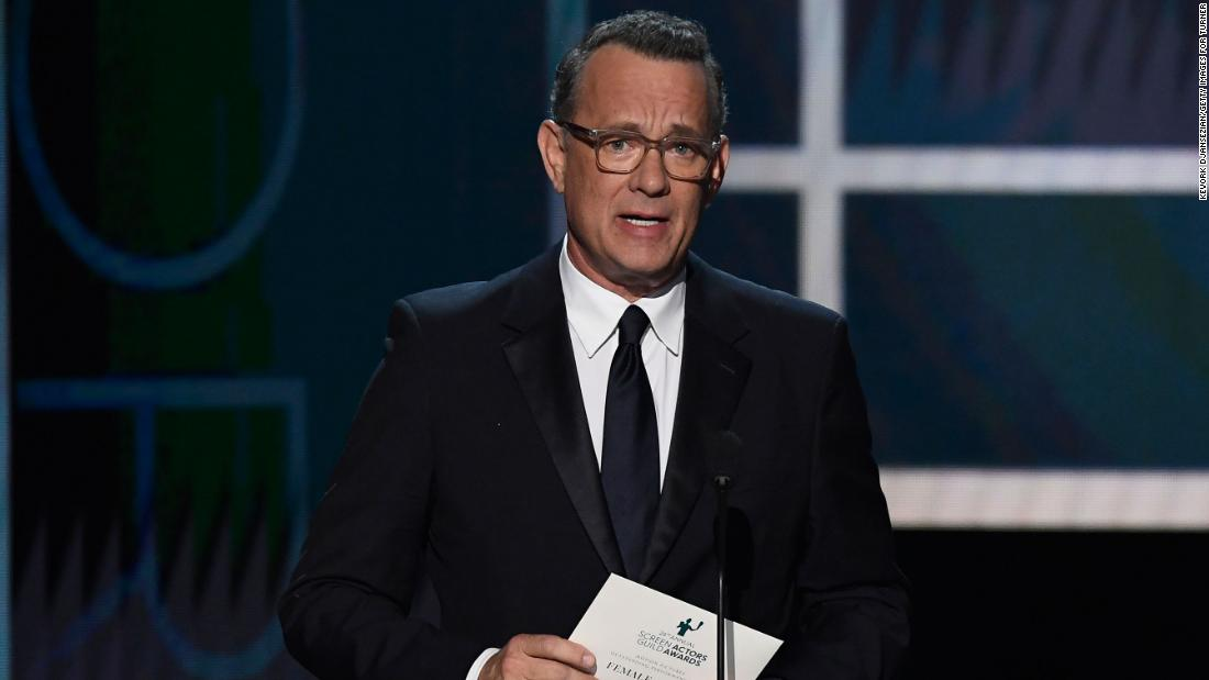 Tom Hanks says wearing a mask should be so easy in the first TV interview since he recovered from Covid-19