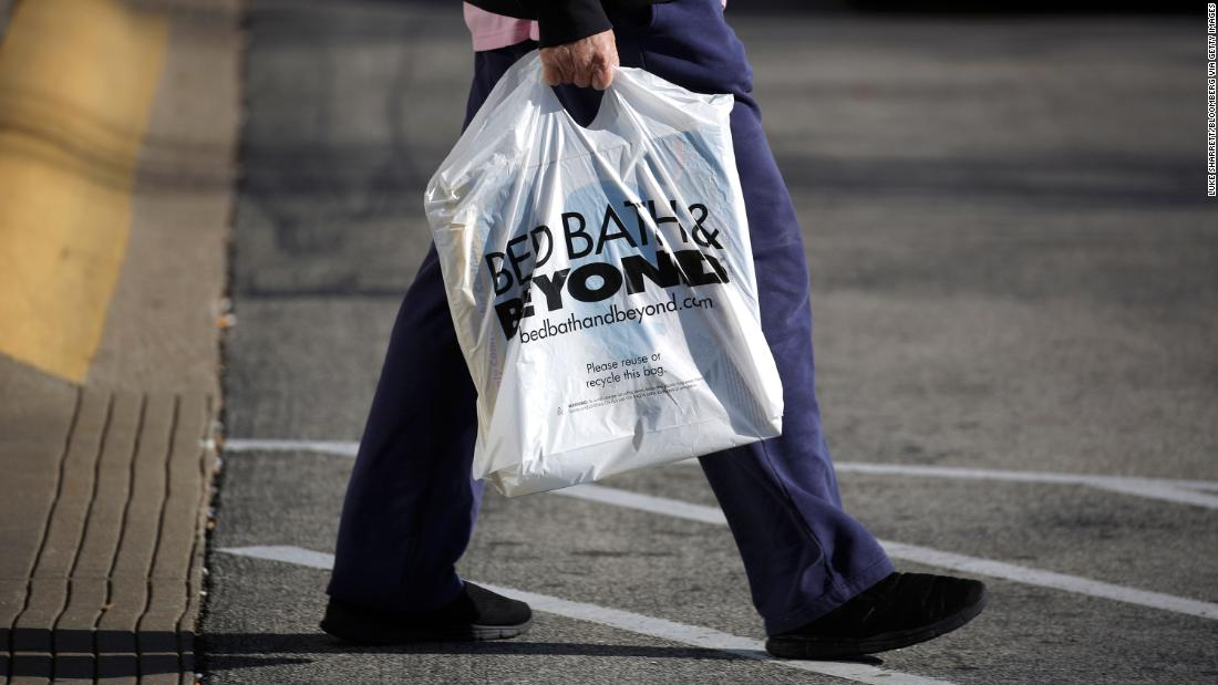 Bed Bath & Beyond plans to close 200 stores in the next two years
