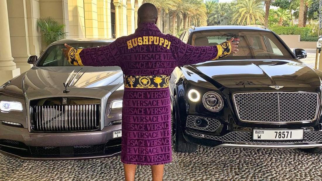 Ray Hushpuppi is accused of cyber crimes in two continents