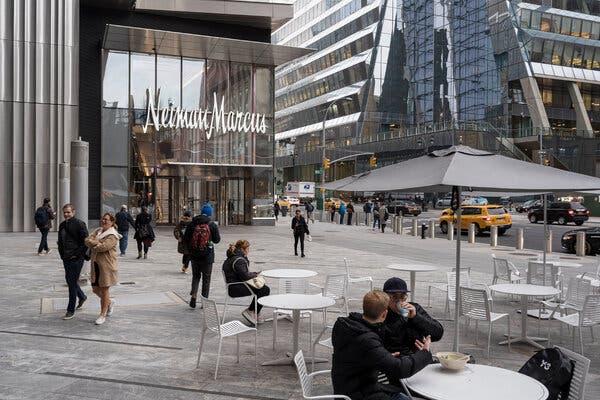 Neiman Marcus in Hudson Yards's in Manhattan in 2019.