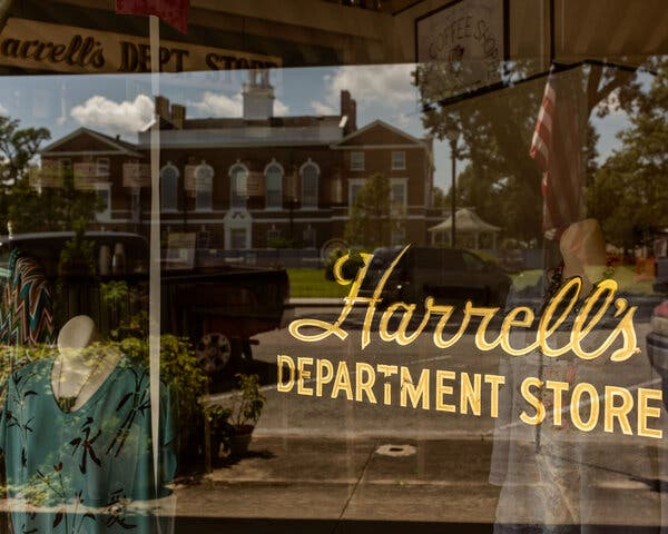 After 117 years in business, the family-owned Harrell's Department Store in Burgaw, N.C., will be closing permanently. It was struggling before the pandemic.