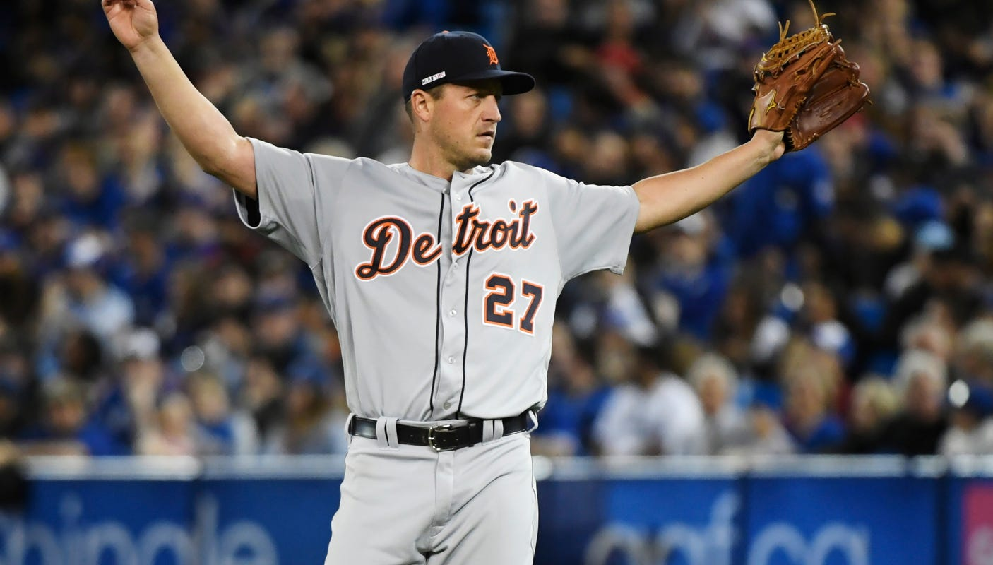 Detroit Tigers' Jordan Zimmermann: Tenure wasn't always ugly