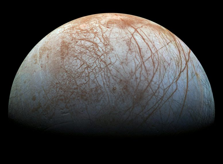 Watery Plumes Jupiter's Moon Europa