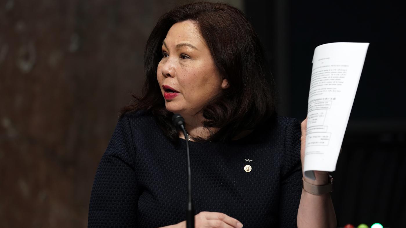 Who Is Tammy Duckworth? Illinois Senator On Biden's VP List : NPR
