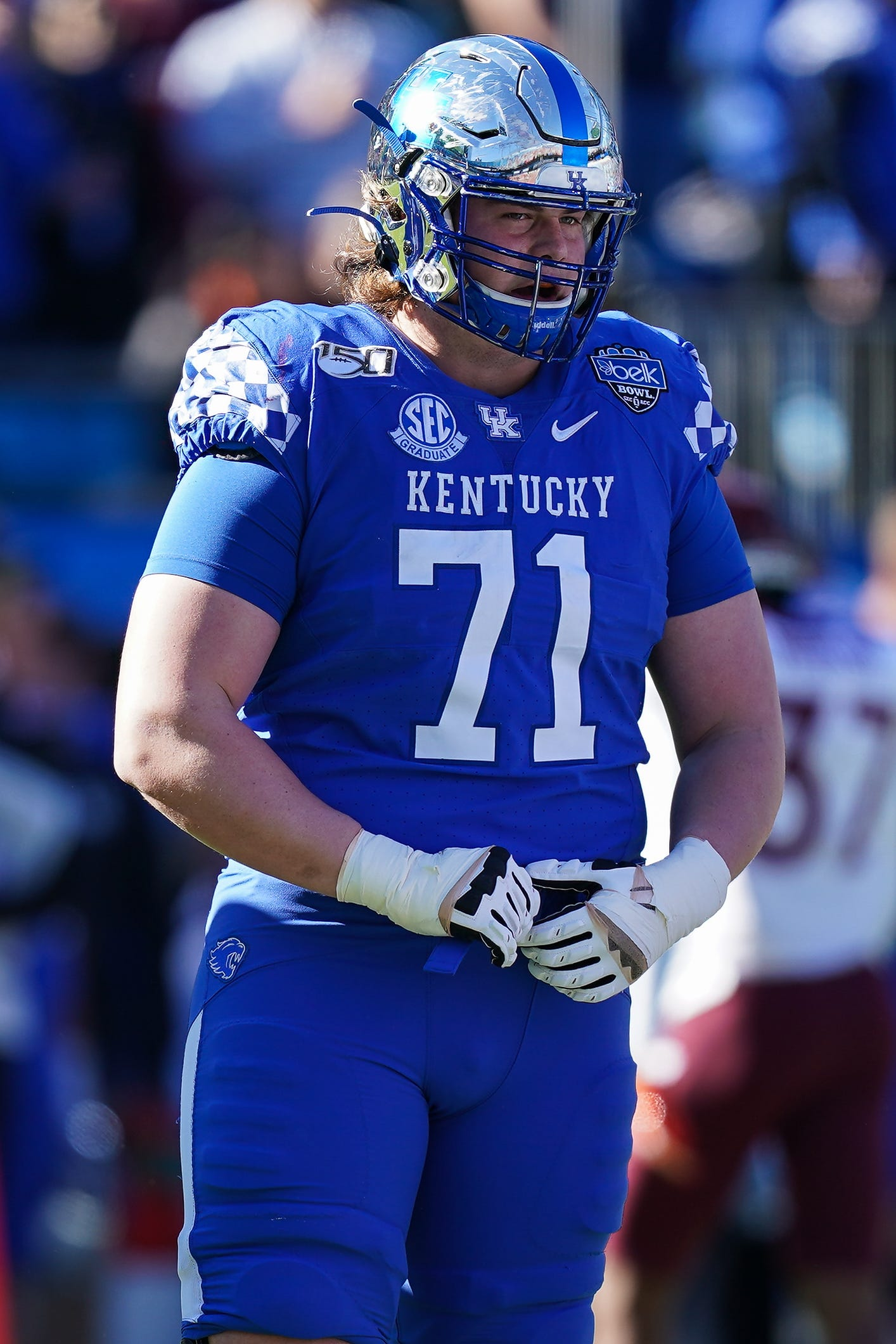 Fourth-round pick Logan Stenberg will be hard-pressed to win a starting job out of training camp with no preseason games.