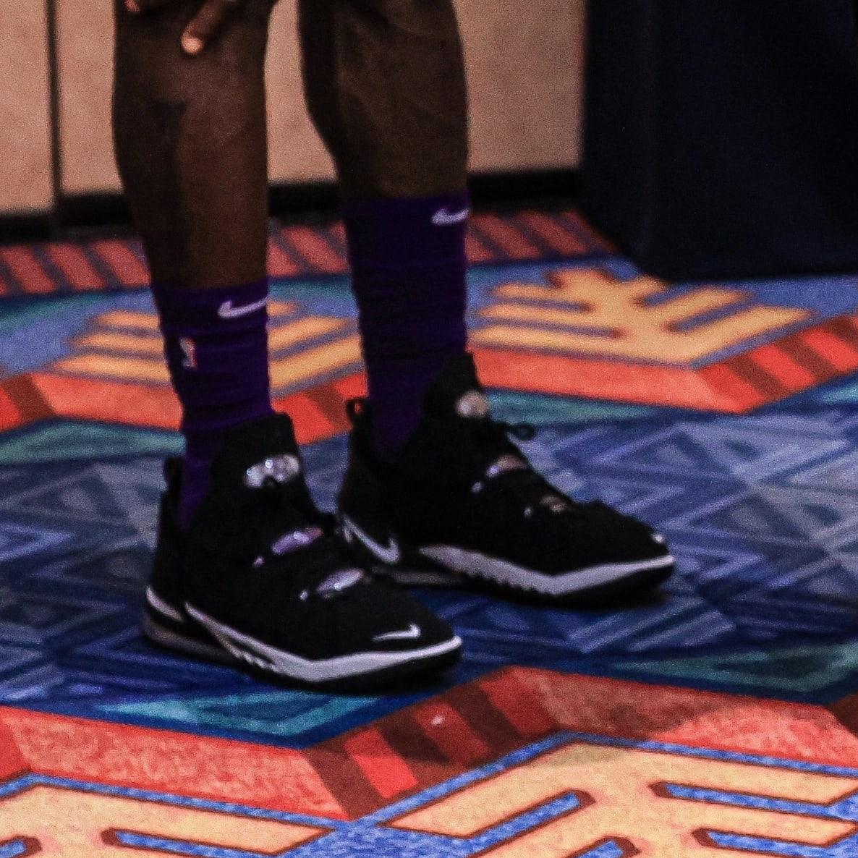 LeBron James Nike LeBron 18 First Look