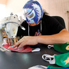 A Mexican 'Lucha Libre' Wrestler Is Sewing Masks To Fight Coronavirus