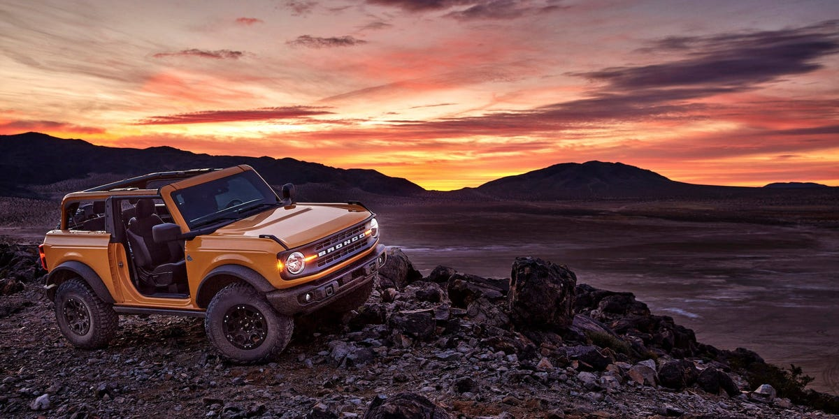 2021 Ford Bronco web-site crashed as reservations opened